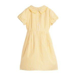 Maison Me Marigold Check Collared Emmalyn Dress